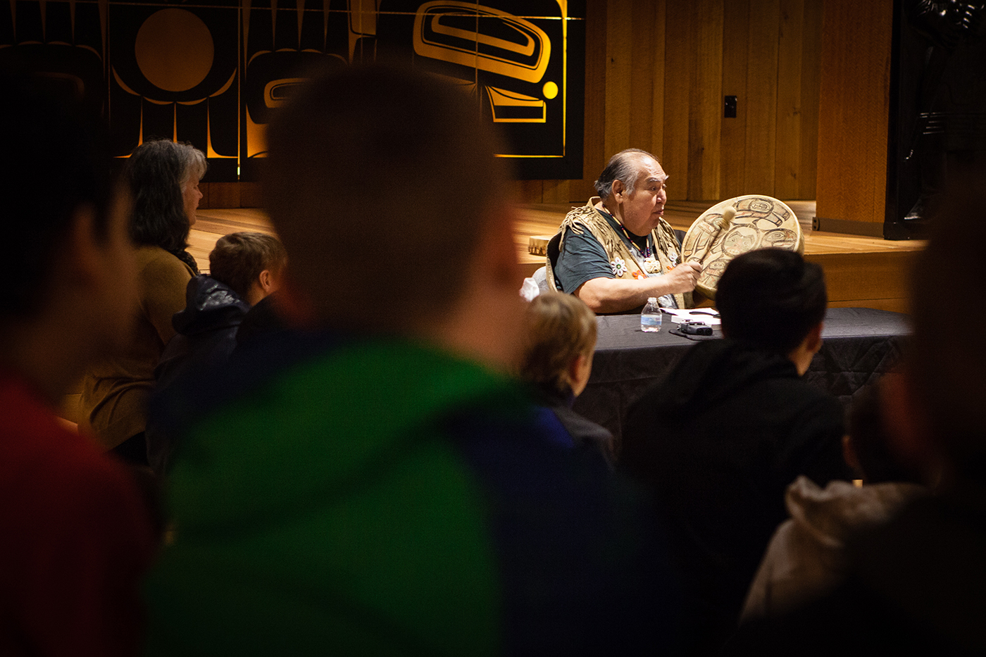 Tlingit elder David Katzeek reveals the history and knowledge embedded in Tlingit place names